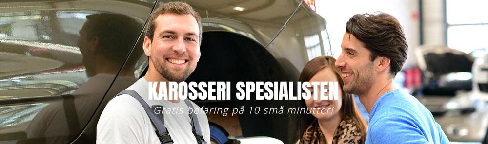 Karosseriskader på bil - Karosserispesialisten AS
